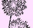 Gartendeko Shabby Einzigartig Schablone Lilie A4 Für Stoffe Möbel Usw Nr 6