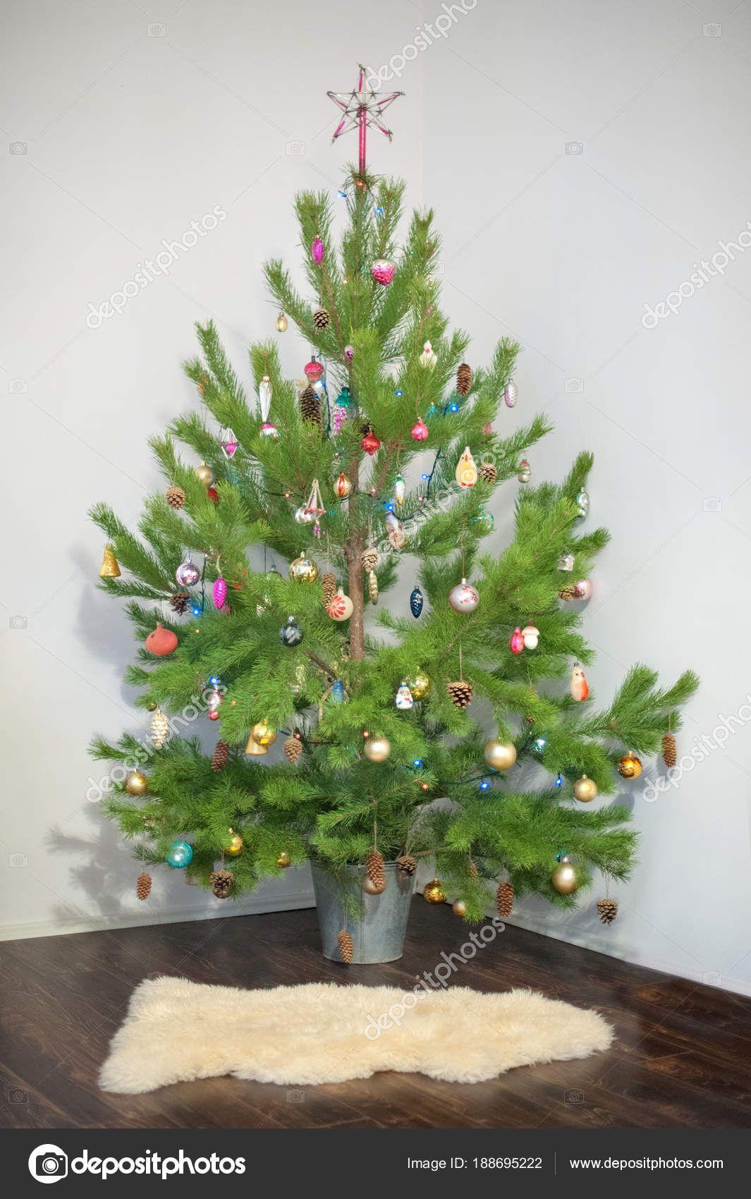 Gartendeko Weihnachten Best Of Choinki Girlandy Dekoracje Świąteczne — Zdjęcie Stockowe