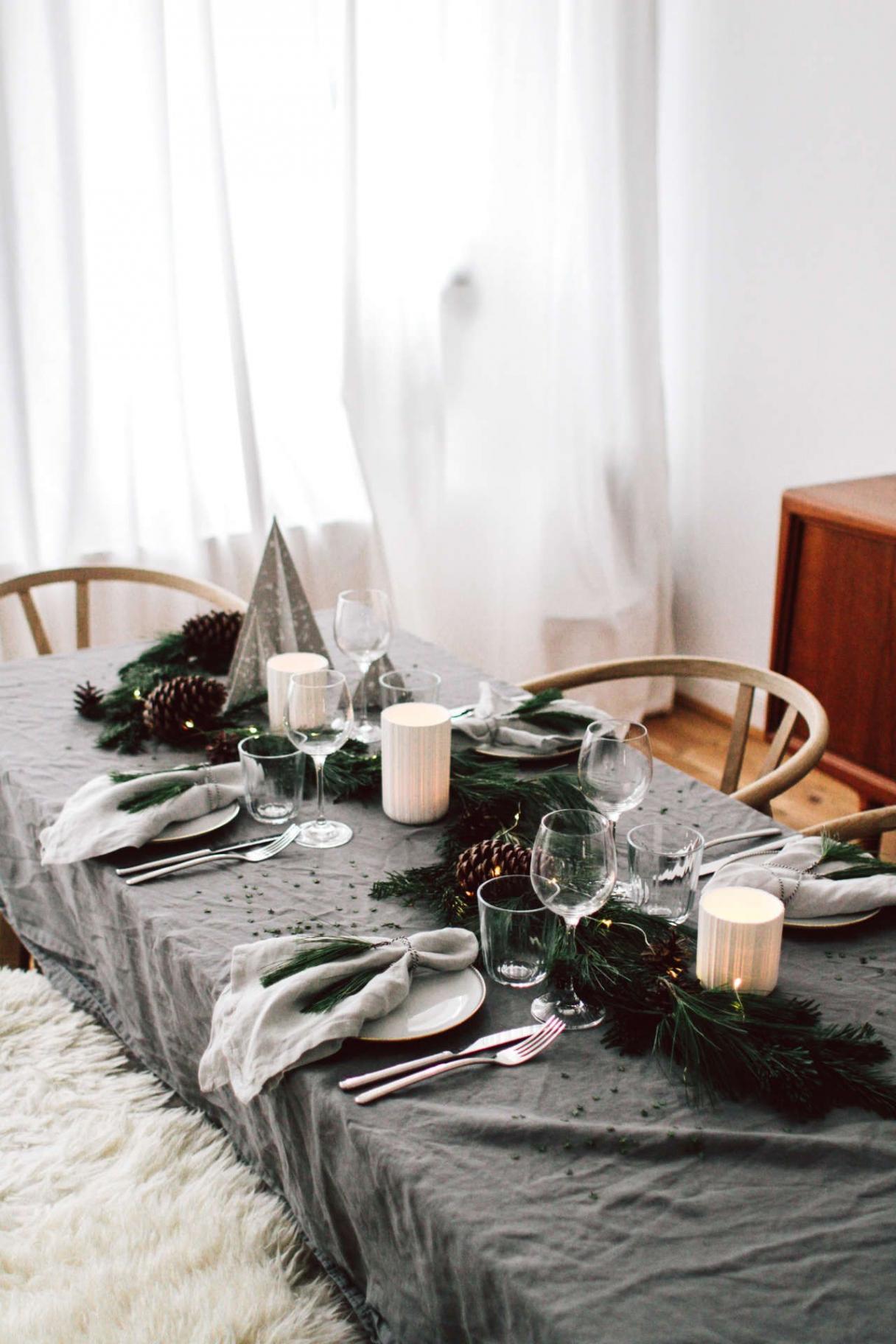 weihnachtstisch unsere tischdekoration fur weihnachten rustikale weihnachtsdeko selber machen rustikale weihnachtsdeko selber machen