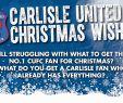 Gartendekoration Elegant Merry Christmas Carlisle United Fan Santa Hat Koszulki Sport