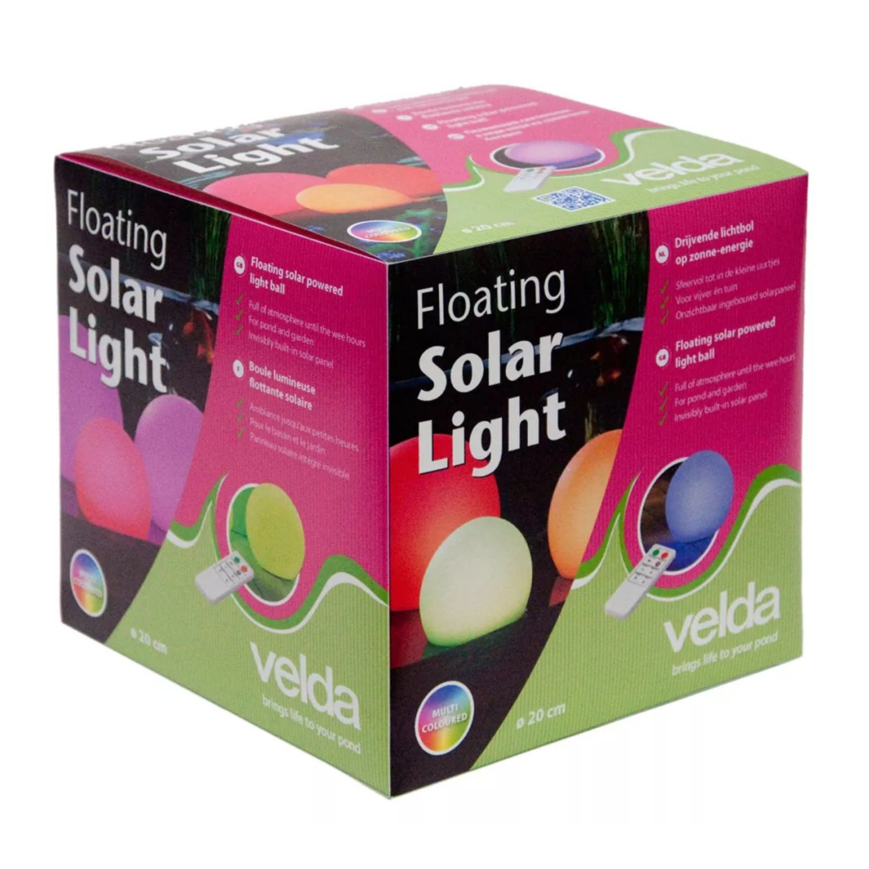 velda floating solar light va