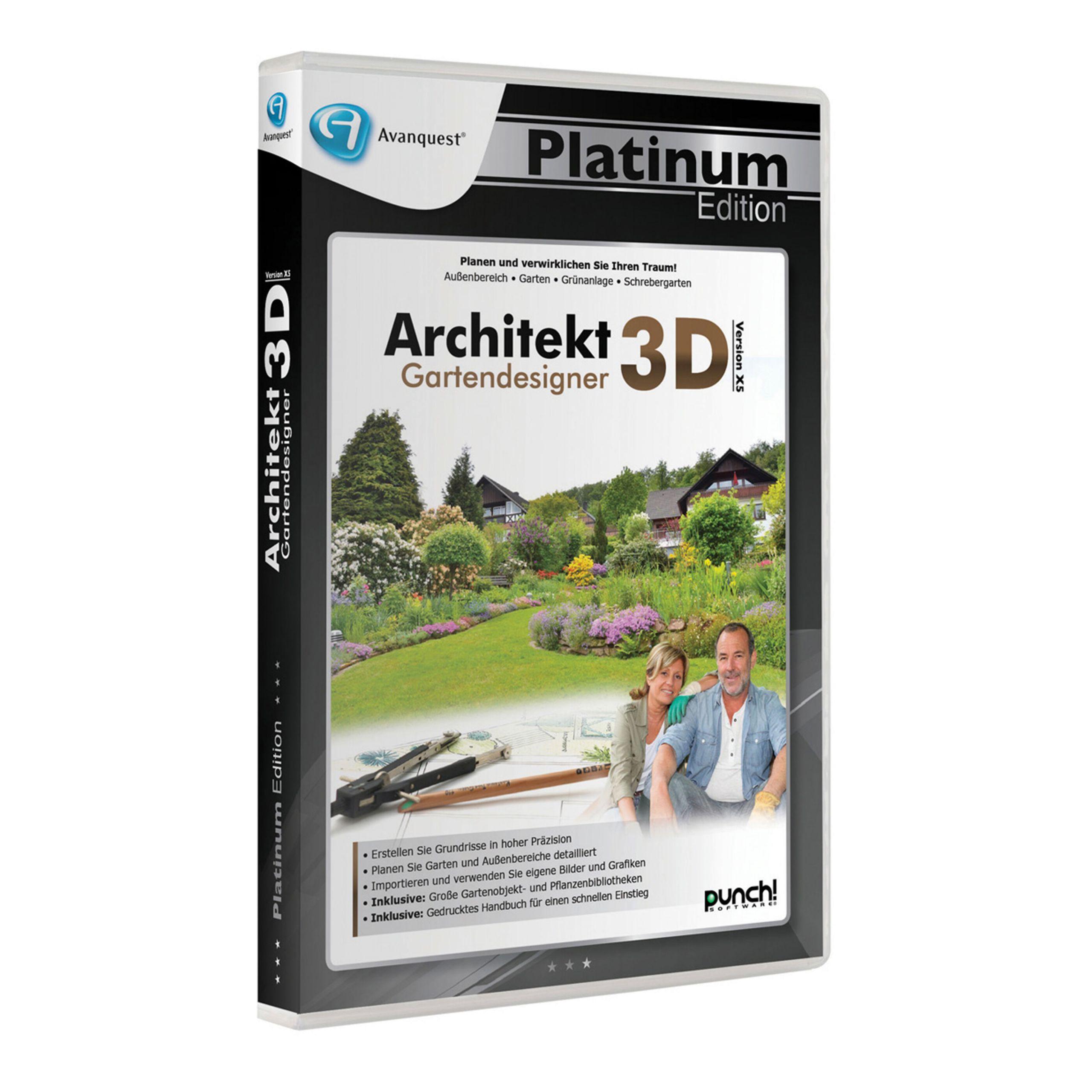 Gartendesigner Elegant Platin Edition Architekt 3d X5 Gartendesigner Bei