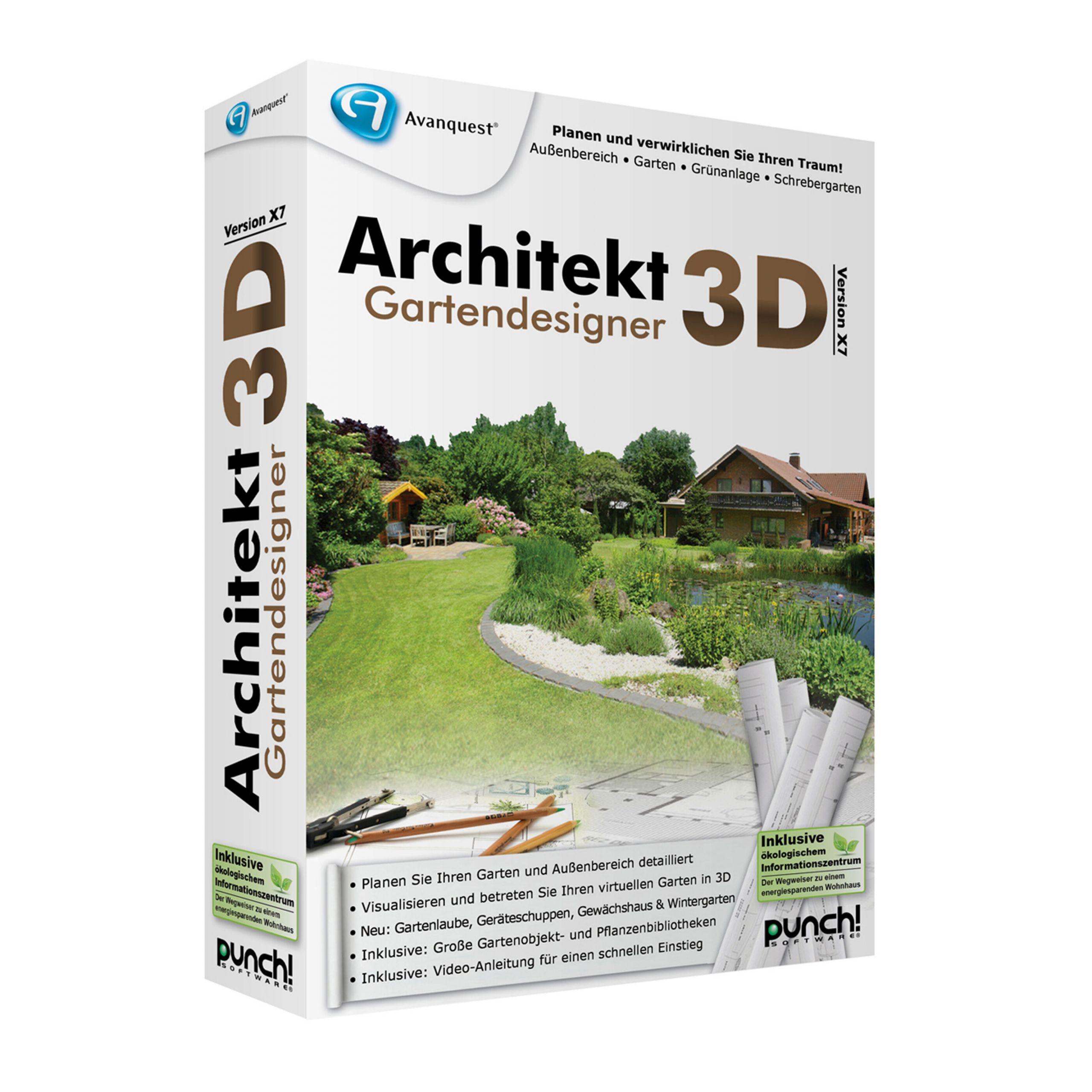 Gartendesigner Inspirierend Architekt 3d X7 Gartendesigner Bei Notebooksbilliger