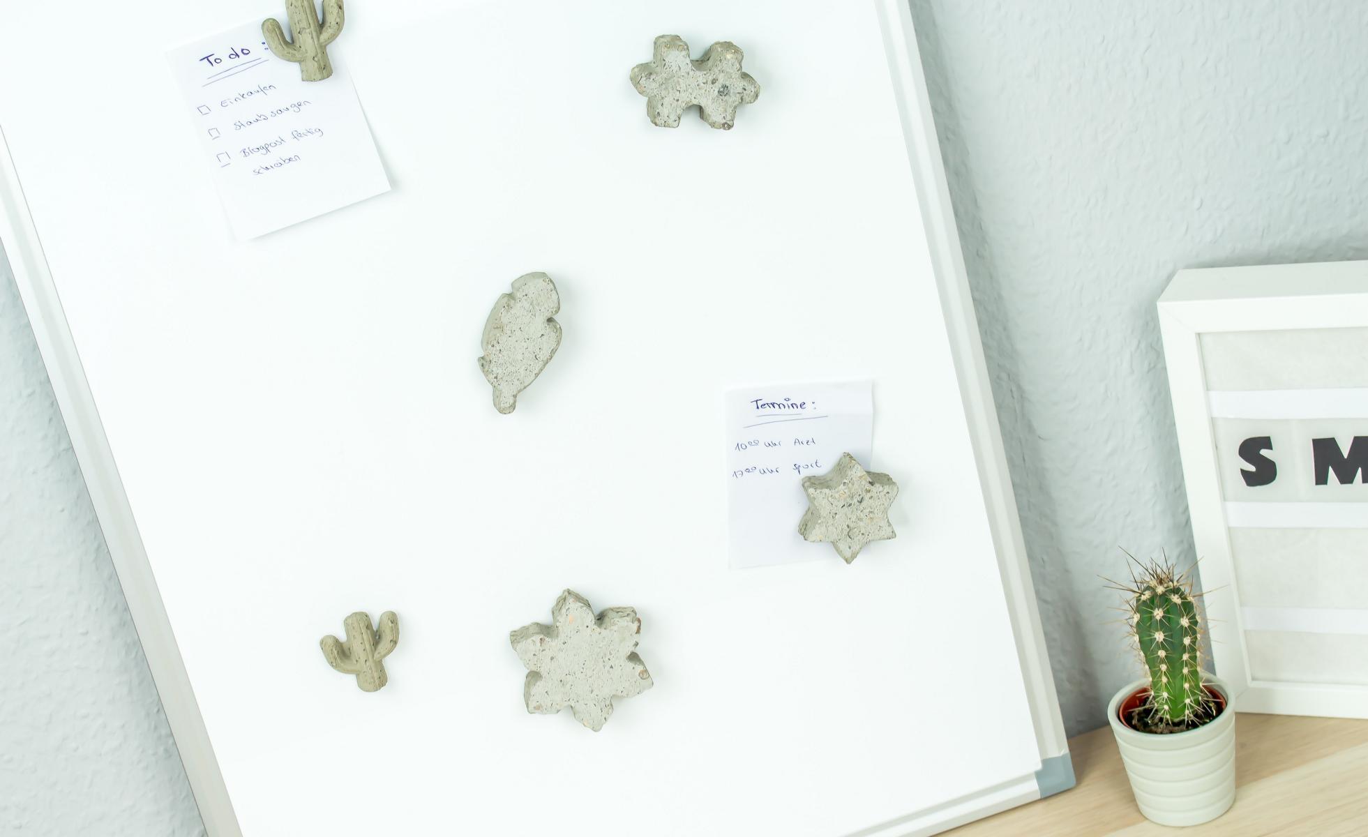 DIY Magnete aus Beton selber machen Beitragsbild 1