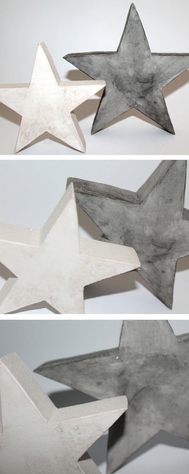 Gartenfiguren Aus Beton Selber Machen Elegant Diy Gips Beton Sterne Einfach Gießen Selbermachen