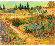 Gartengestaltung Am Hang Schön 2019 Hand Painted Vincent Van Gogh Oil Paintings Canvas Bluhender Garten Mit Pfad Modern Art Landscape Wall Decor From Kixhome $101 51