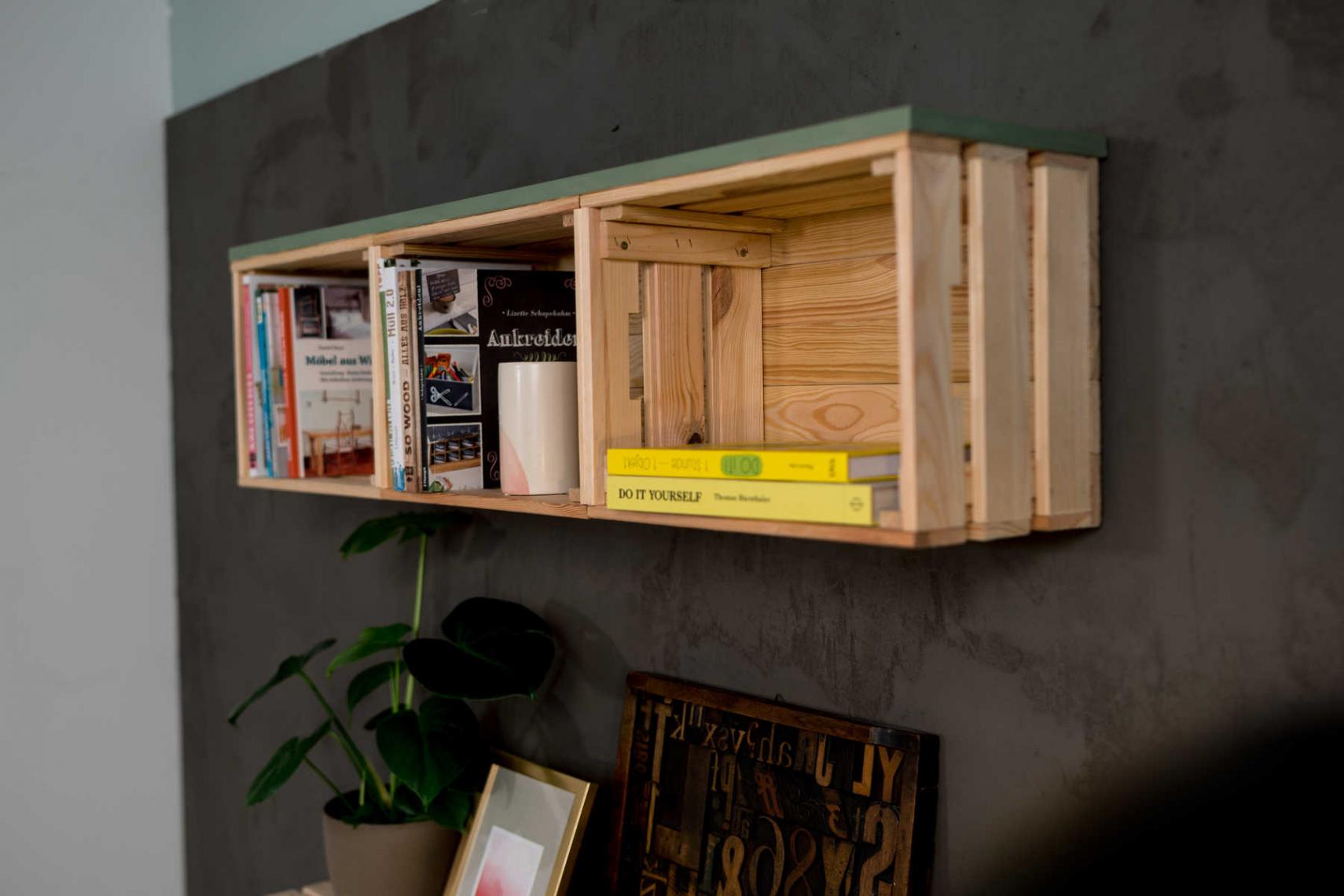 Gartengestaltung Mit Holzkisten Genial Holzkisten Regal Bauen — Temobardz Home Blog