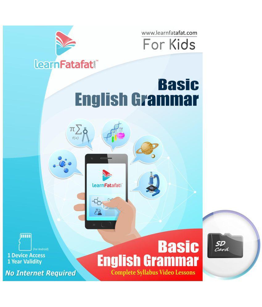 LearnFatafat Basic English Grammar Video SDL 1 11afd