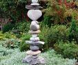 Gartengestaltung Steine Luxus Steinturm