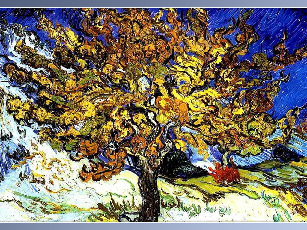 Van Gogh tree