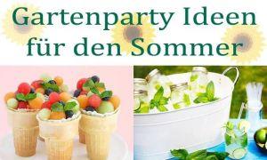 35 Elegant Gartenparty Deko Ideen