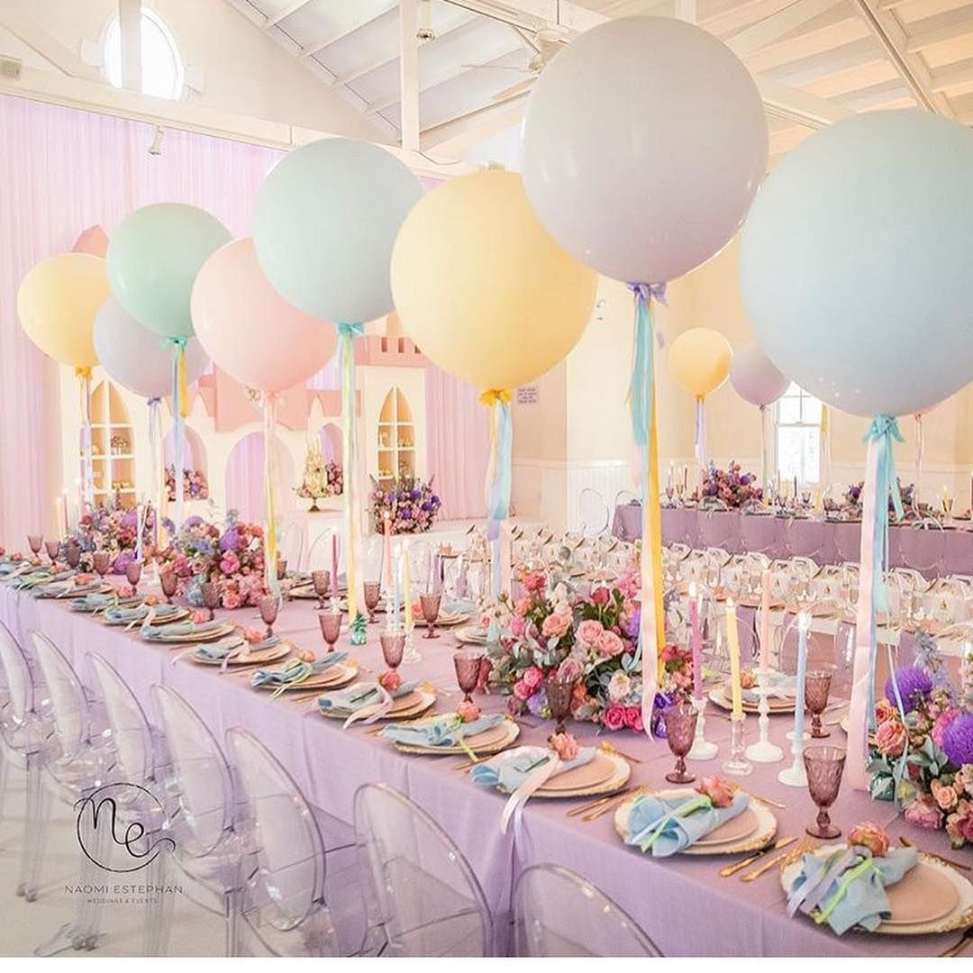"Gartenparty Deko Luxus Party Ideas ""gorgeous Pastel Princess Party by"