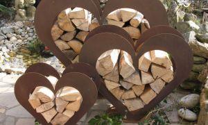 39 Frisch Gartenskulpturen Holz