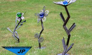 23 Schön Gartenskulpturen Metall Rost