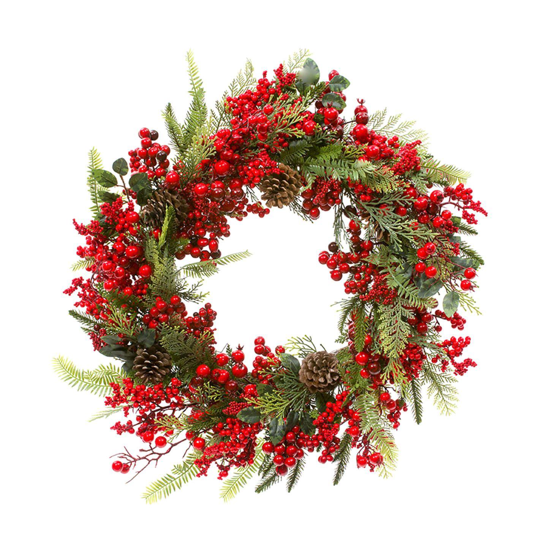 STAR Weihnachtsdeko Berrie and Fern Kranz H 003 xxl3