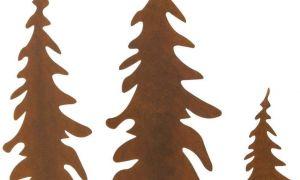 26 Schön Gartenstecker Rost Weihnachten