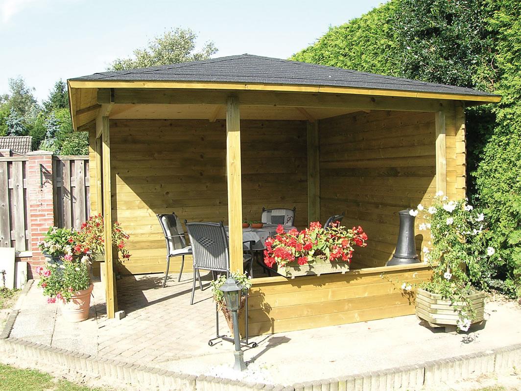 Timber Garden Strucutre