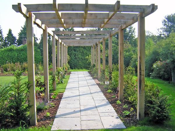 timber garden structures
