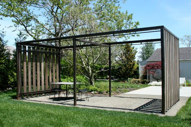 Garden Structures modern landscape new york