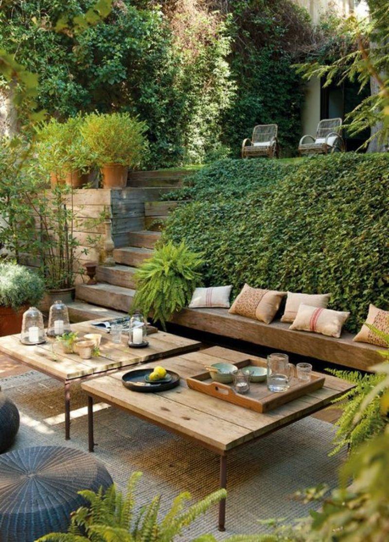 kreative Gaertenideen Gartenarbeit Entspannungsecke gestalten Garten