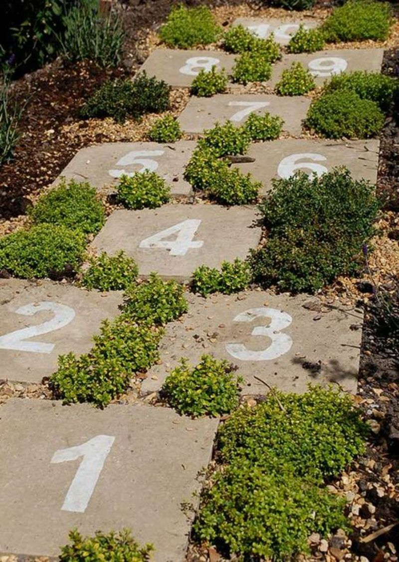 kreative Gaertenideen Gartenarbeit Gartenweg Ideen