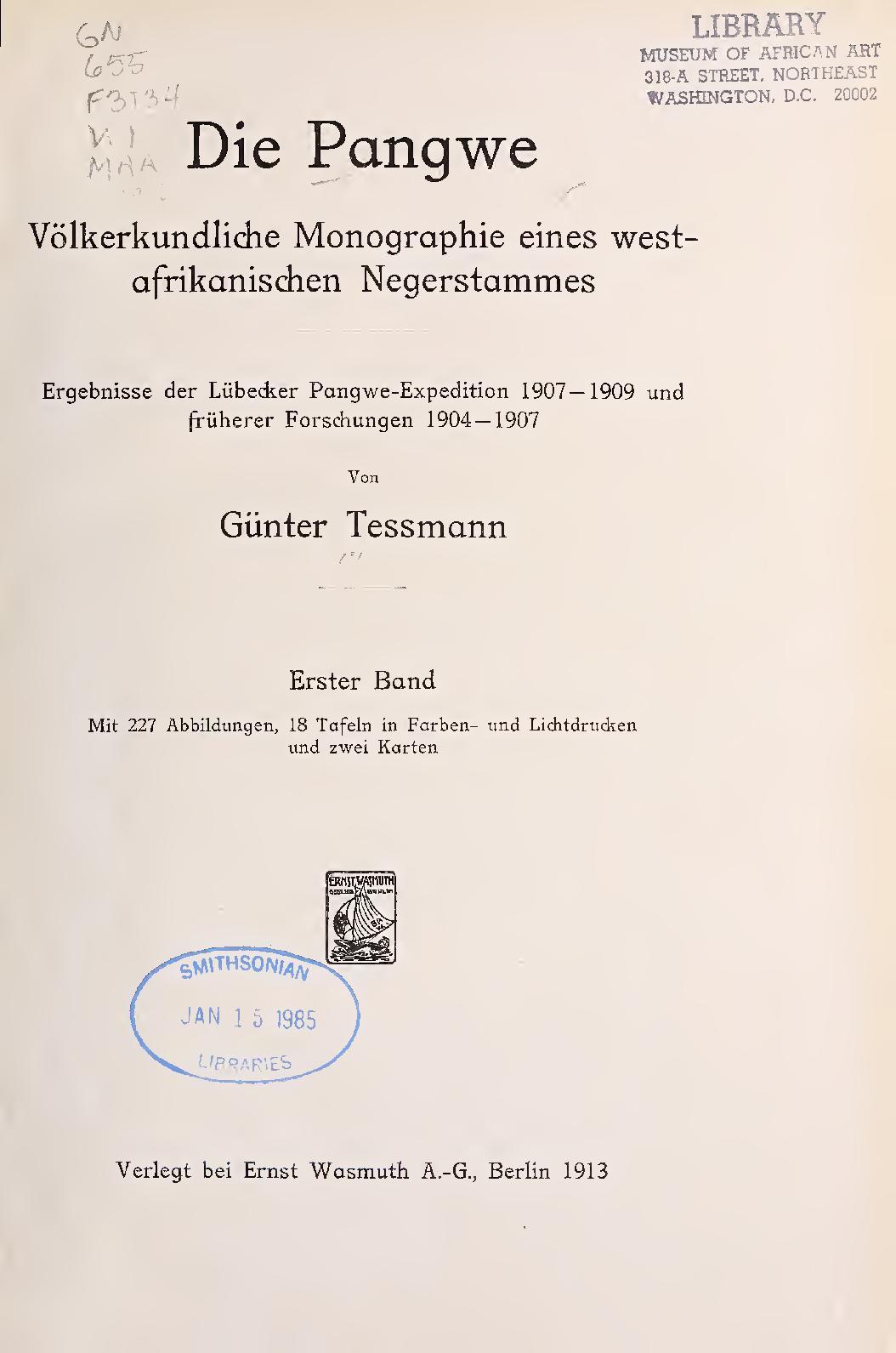Großen Garten Pflegeleicht Gestalten Einzigartig Calaméo Die Pangwe T 1 Volkerkundliche Monographie Eines