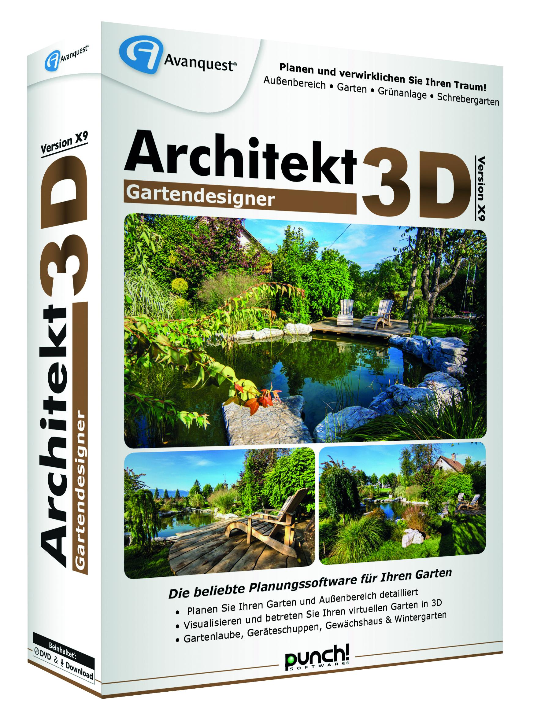 Architekt 3D Gartendesigner X9 3D links 300dpi CMYK