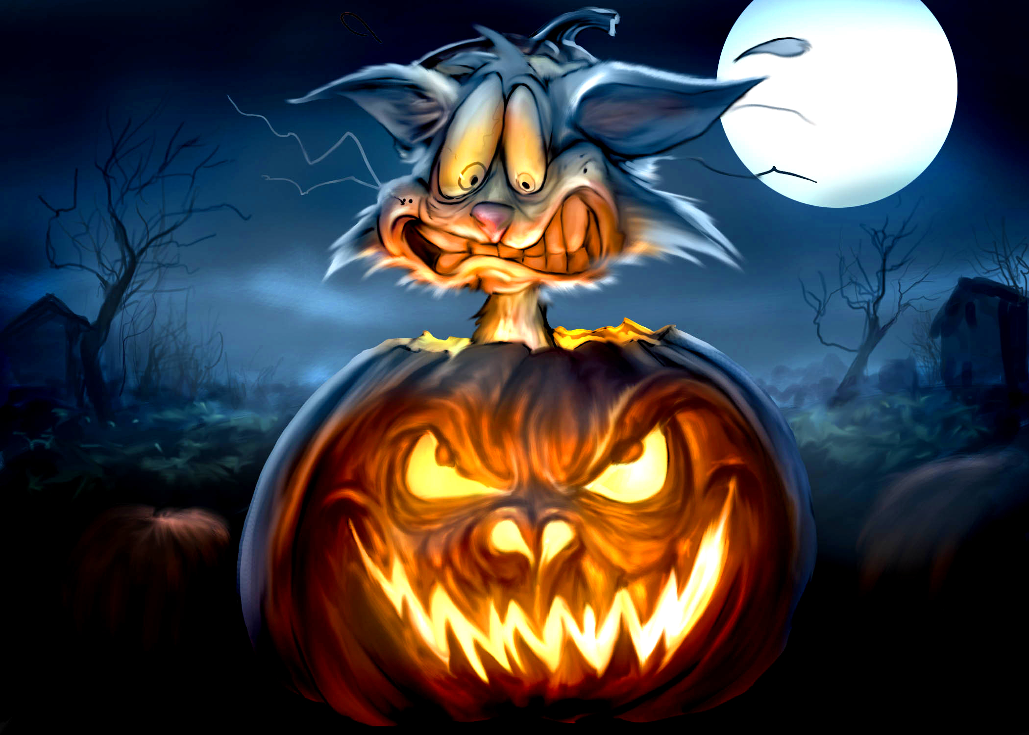 happy halloween from scott rene