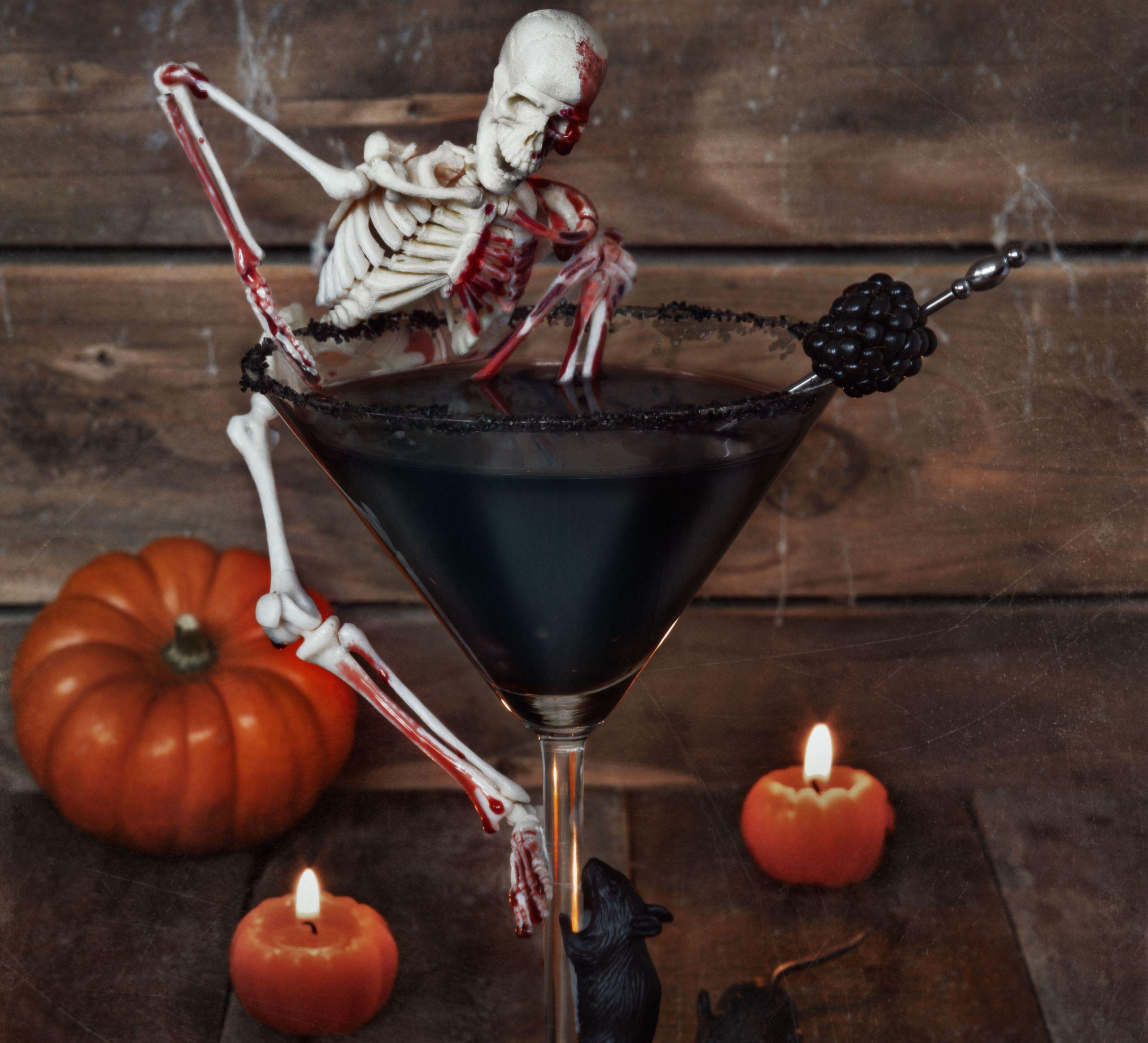 halloween shot drinks