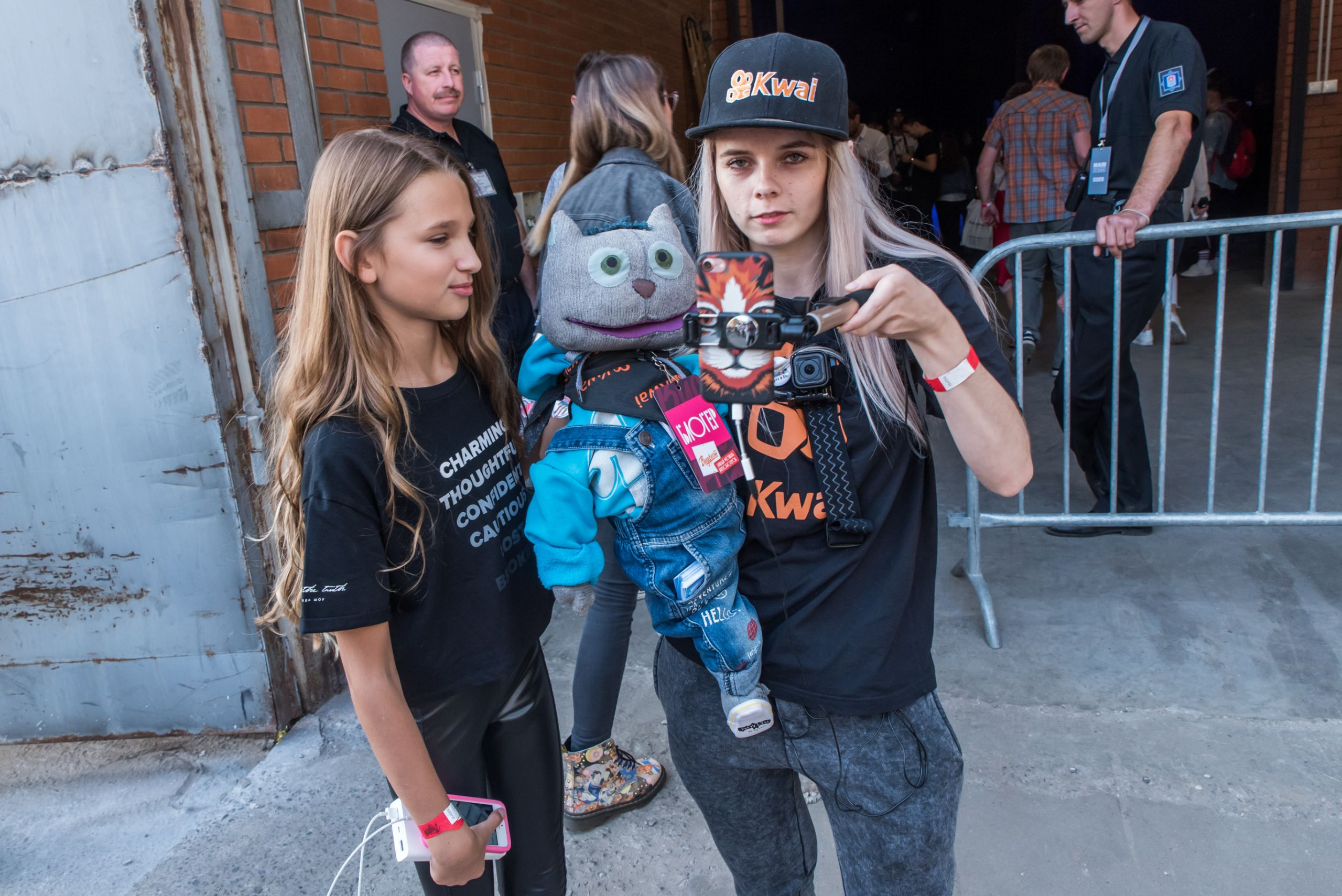 Лиза Анохина и Берта Пяттоева на Видфест 2018 в Москве