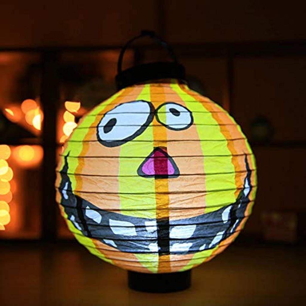 Halloween Bewegungsmelder Genial Einzigartige Halloween Dekoration Led Papier Licht Hängende