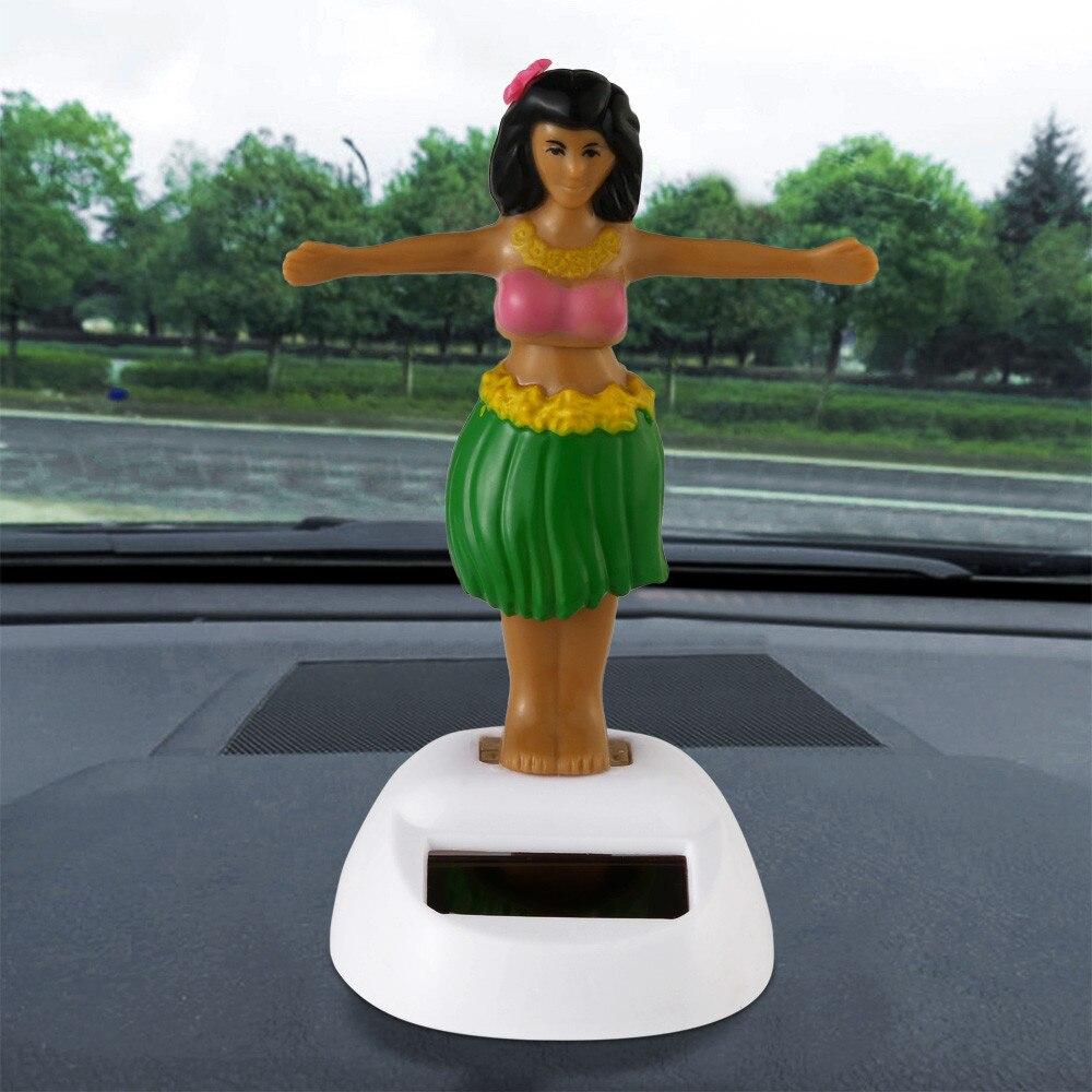 Die besten Halloween geschenk Solar Powered Tanzen Halloween Schwingen Animierte Bobble T nzerin Spielzeug Auto Decor