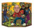 Halloween Deko Animiert Schön Fotowand Aufsteller Zombie