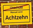Halloween Deko Auf Rechnung Genial ortsschild Zum 18 Geburtstag Mit Wunschnamen 70cm — 50cm