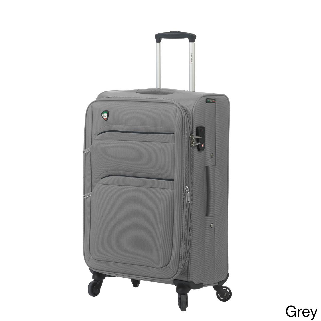 kleiner koffer deko mia toro italy alagna 28 inch expandable spinner upright suitcase durch kleiner koffer deko