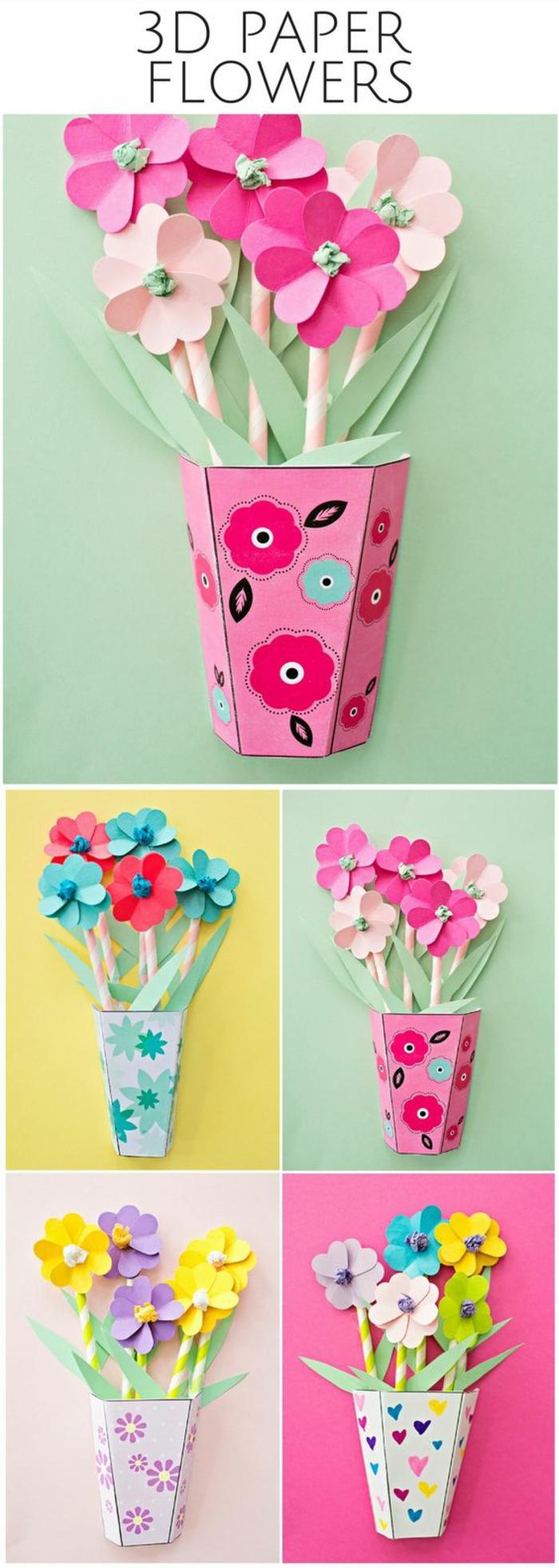 basteln für erwachsene und kindern deko aus papier für das zuhause selber machen papierbasteln 1