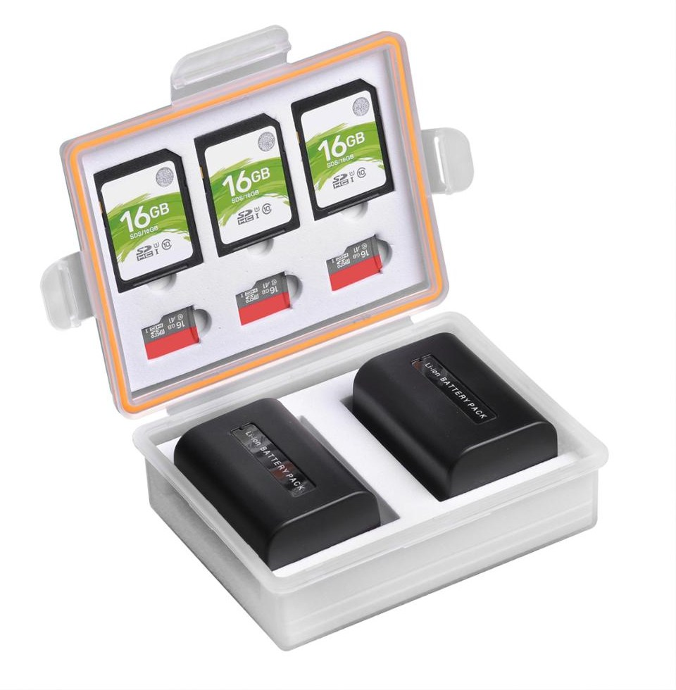 Camera font b Battery b font font b Box b font Storage SD TF Memory Card