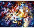 Deko Katze Groß Neu Cats and Dogs Oil Paintings Ручшие изображения 80 в 2020