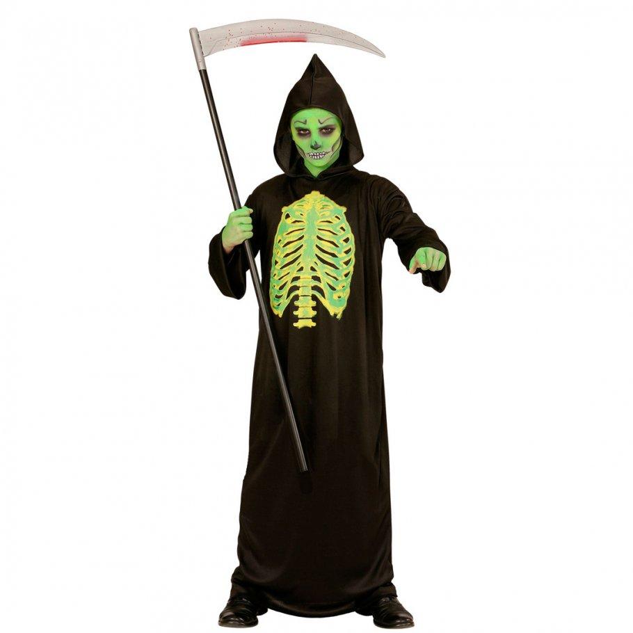 Halloween Kinderkostuem Sensenmann Horror Kostuem