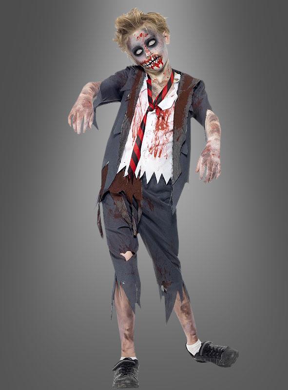 Zombie Schuljunge Kinderkostuem