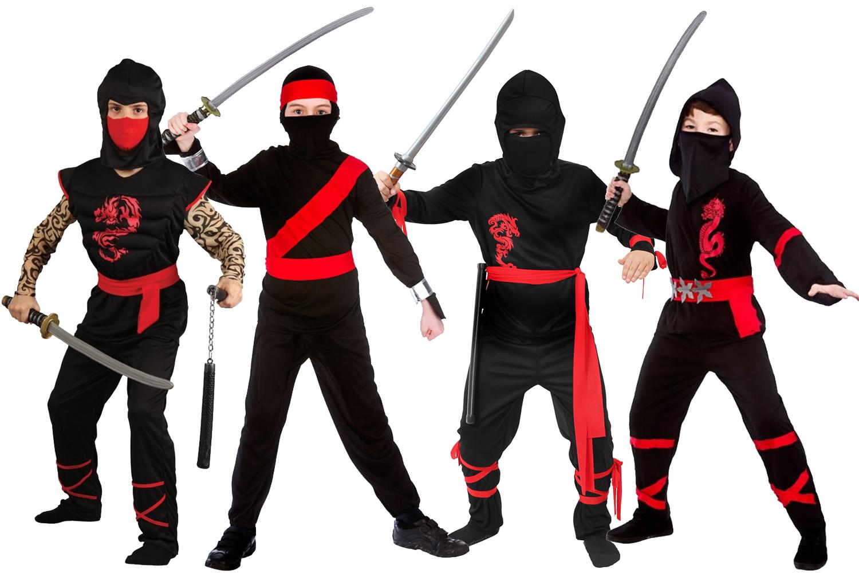 Halloween Klamotten Elegant Japanese Ninja Power Warrior Costume Halloween Fancy Dress