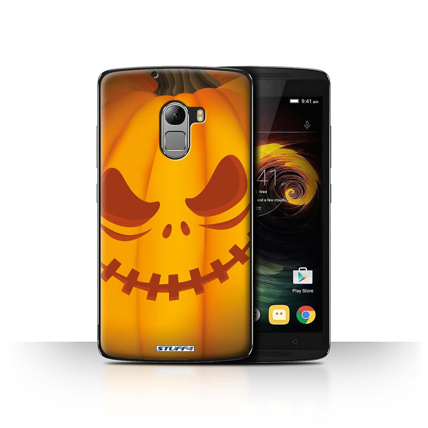 Halloween Klamotten Frisch Stuff4 Case Cover for Lenovo Vibe K4 Note Scary Halloween Pumpkin