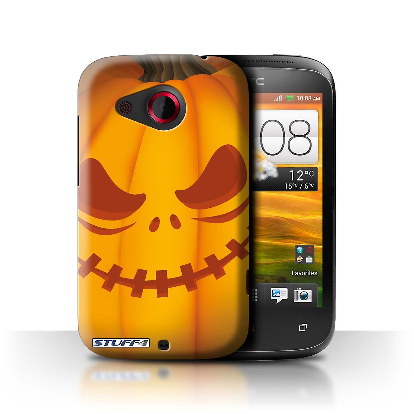 Halloween Klamotten Schön Stuff4 Case Cover for Htc Desire C Scary Halloween Pumpkin