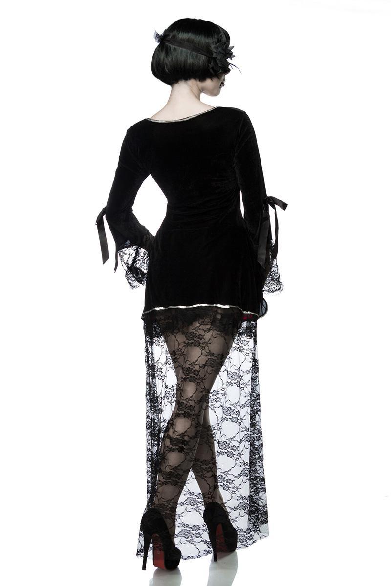 Halloween Kostüm Damen Günstig Einzigartig Gothic Vampire Kostüm Komplettset Kleid Maske Damen