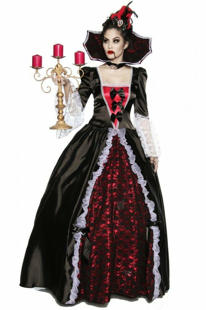 Halloween Kostüm Damen Günstig Einzigartig Halloween Kostüm Vampiress Of Versailles Halloween Kleid
