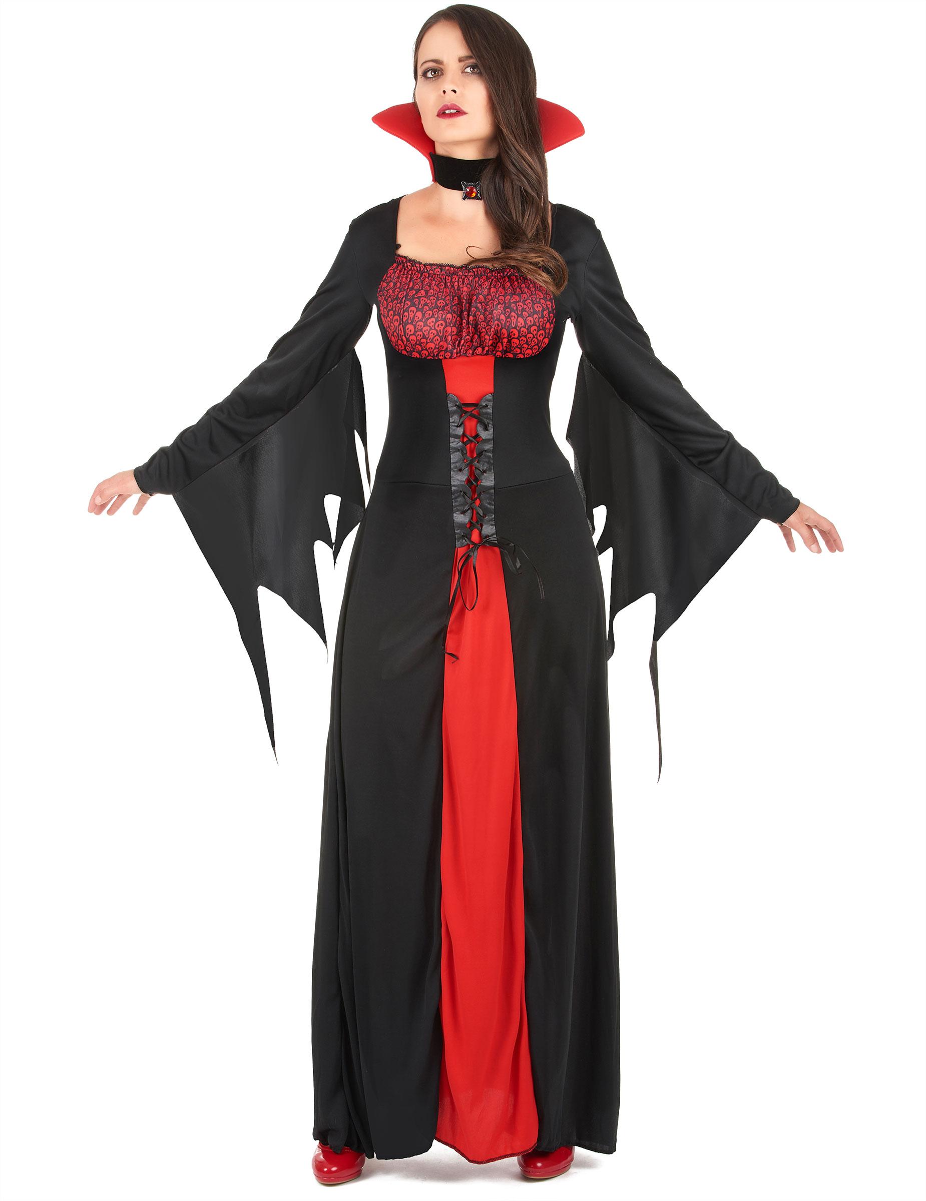 p halloween vampir kostum fur damen