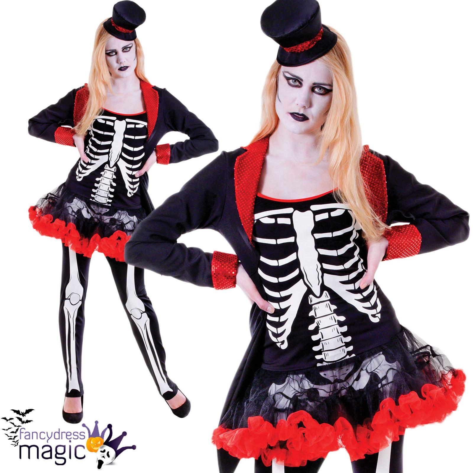 damen herren kinder knochen jangles skelett halloween