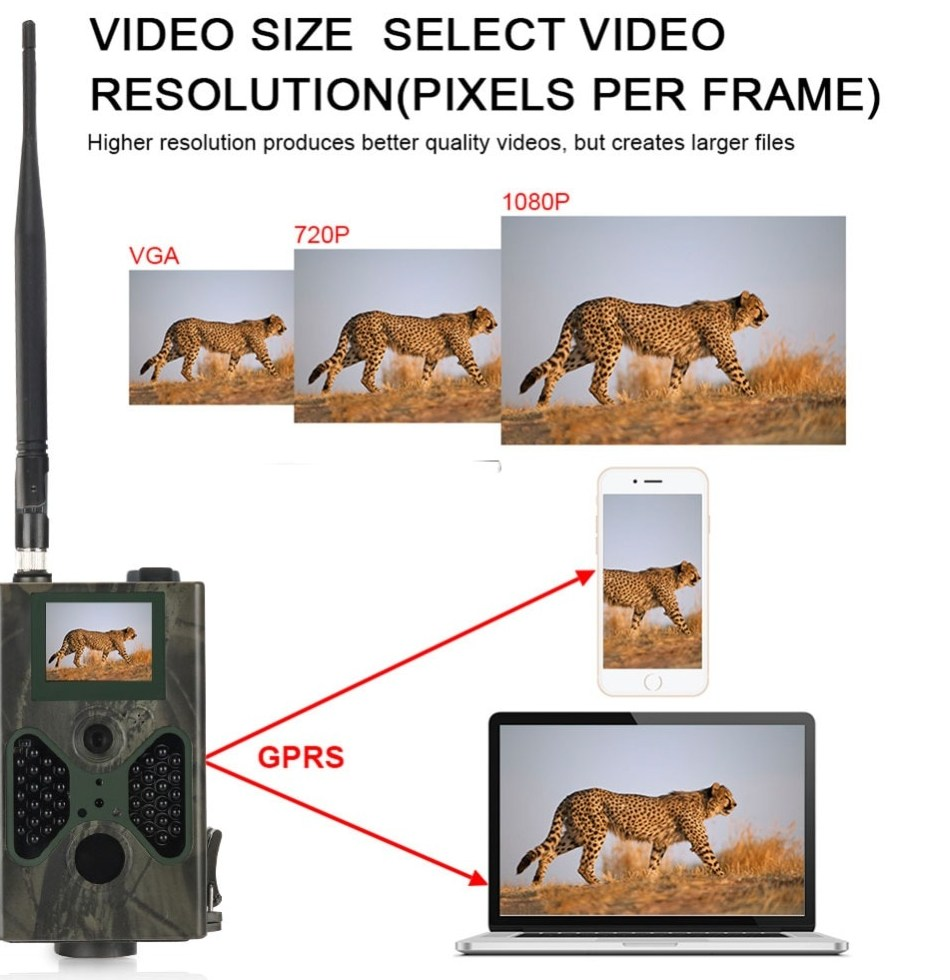 Suntekcam 2G Wild Hunting Trail Camera 16MP Traps Email font b MMS b font font