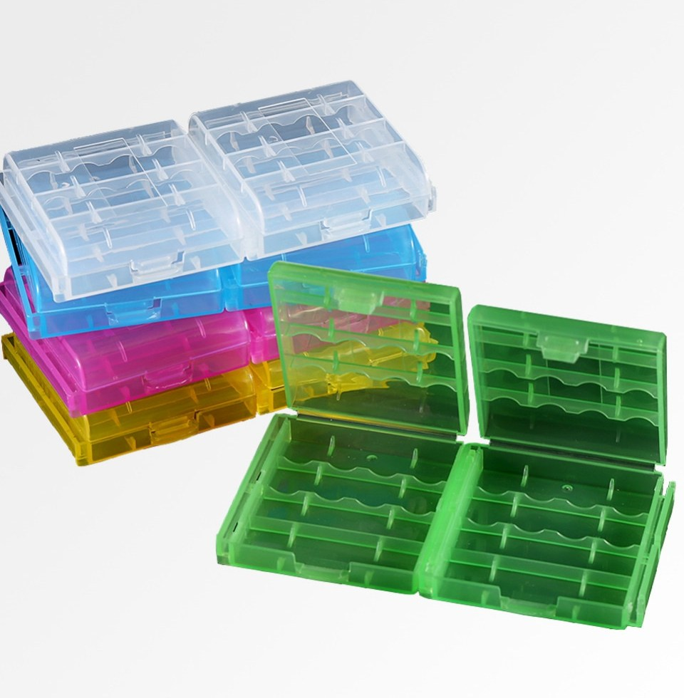 10boxes lot Plastic font b Battery b font Holder font b Box b font Organizer Container