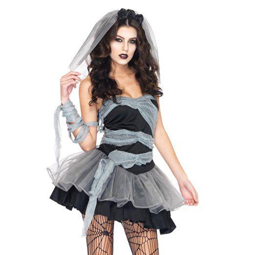 Halloween Kostüm Geisterbraut Neu Damen Frauen Vampire Cosplay Kostüme Geisterbraut